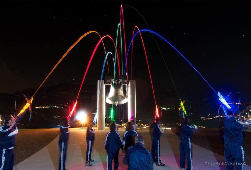 Arcobaleno della Pace Arcieri Rovereto