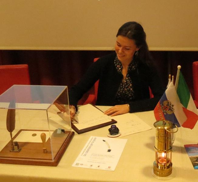 Calamaio per la Pace - Italia Russia