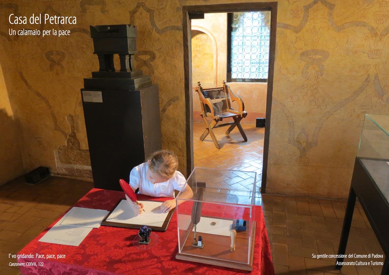 Casa Petrarca - Calamaio per la Pace - Foto Luca Brunoro