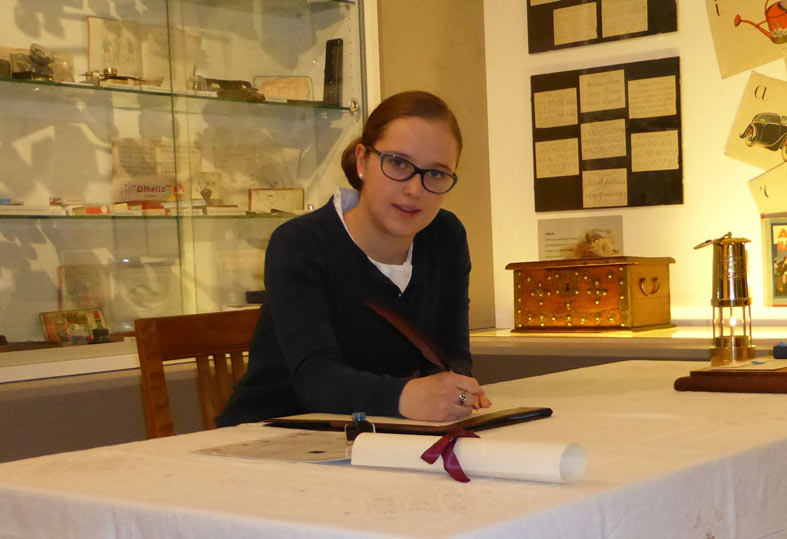 CaterinaDalmaso introduce le Quillsletter, fotografata da Antonio Sartori