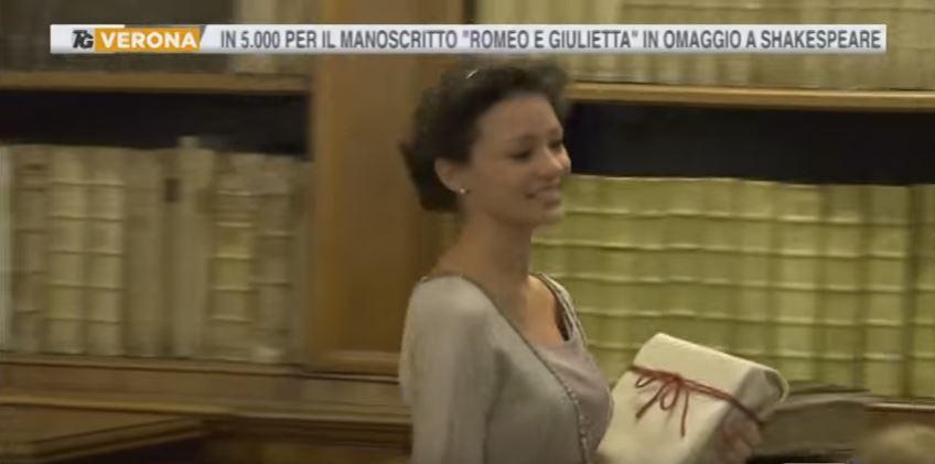 Manoscritto Romeo e Giulietta Verona Disvelato