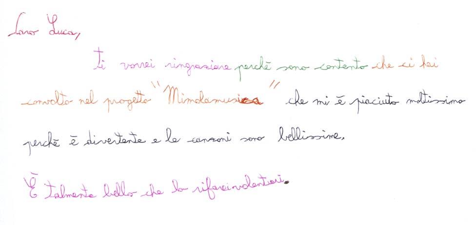 Pensiero su Mimolamusica Anm per Luca Brunoro