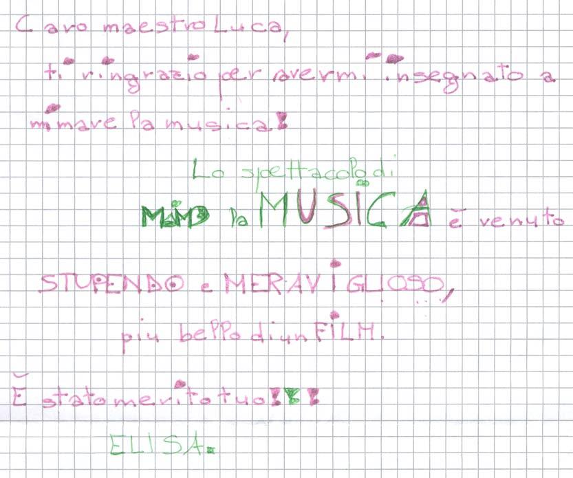 Pensiero su Mimolamusica Els per Luca Brunoro