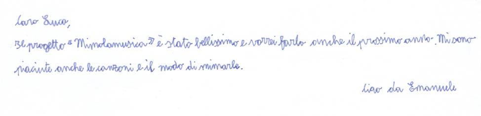 Pensiero su Mimolamusica Emn per Luca Brunoro