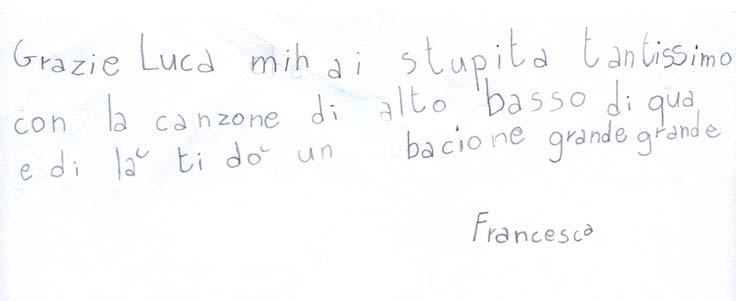 Pensiero su Mimolamusica Frn per Luca Brunoro