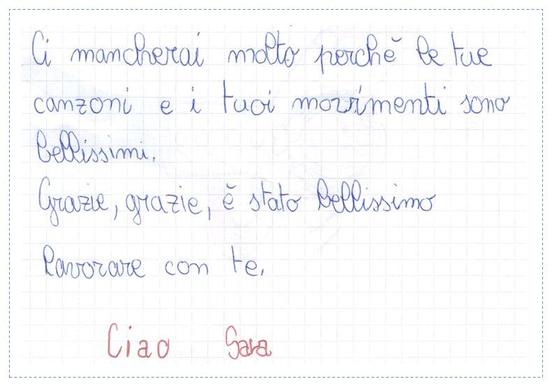Pensiero su Mimolamusica  SR per Luca Brunoro
