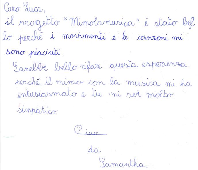 Pensiero su Mimolamusica Sm per Luca Brunoro