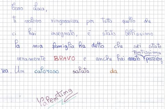 Pensiero su Mimolamusica Vln per Luca Brunoro