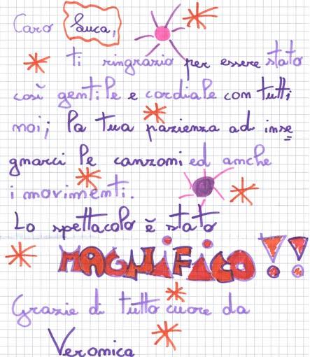 Pensiero su Mimolamusica Vrn per Luca Brunoro