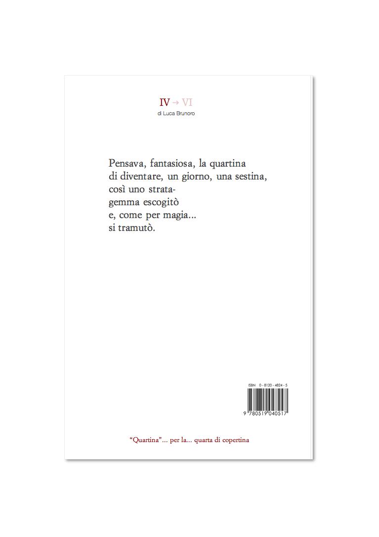 Luca Brunoro _ Quartina per la quarta di copertina