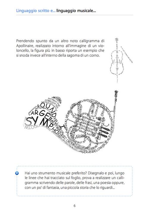 Calligramma-Corno